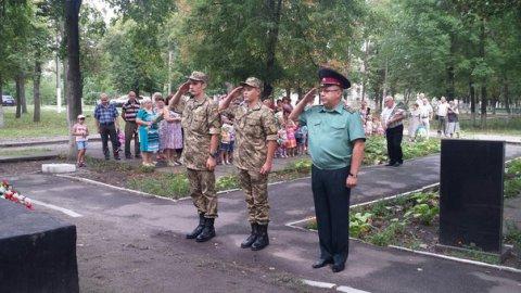 Селище Есхар відзначає 73 річницю визволення від німецько-фашистських окупантів