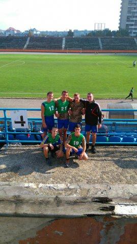 Всеукраїнська спартакіада серед допризовної молоді.