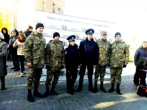 В Харківському національному університеті внутрішніх справ пройшов День відкритих дверей.
