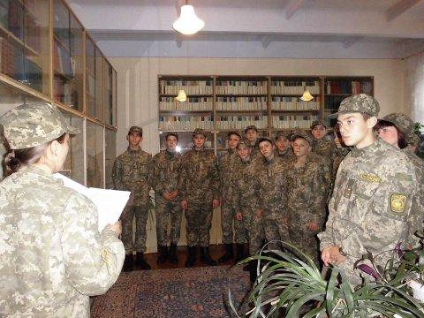 Вечір пам'яті, присвячений 72-й річниці визволення України від німецько-фашистських загарбників