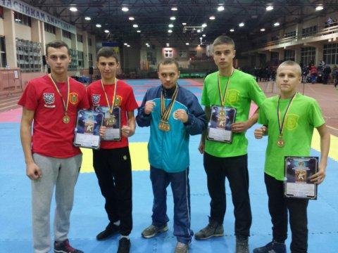 Перемоги на 9-му Чемпіонаті світу з військового двоборства.