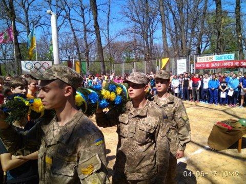 Спортивне свято, присвячене 72-й річниці Дня Перемоги над нацизмом у Другій світовій війні