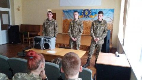 Візит наших випускників - курсантів ХНУПС ім. І.Кожедуба