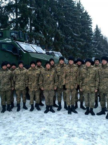Екскурсія до військової частини Національної гвардії України