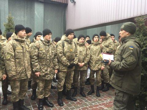 Відвідування дня відкритих дверей в Національнії академії Національної гвардії України