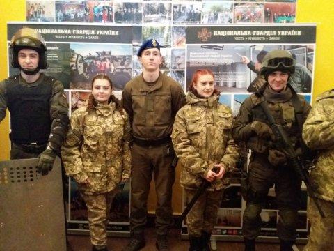 Зустріч з курсантами Національної академії Національної гвардії України