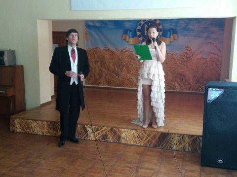 У нас в гостях артисти ХНАТОБу ім. М.В. Лисенка