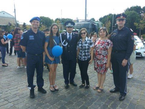 Святкові заходи з нагоди четвертої річниці створення Національної поліції