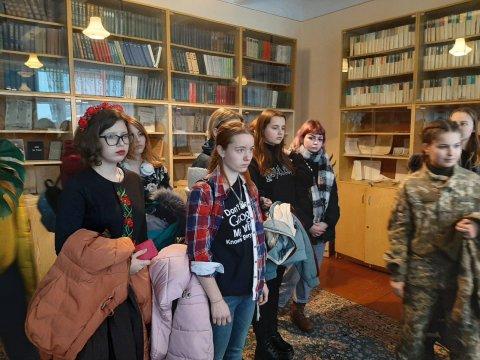 У нас в гостях Харківський академічний художній ліцей.