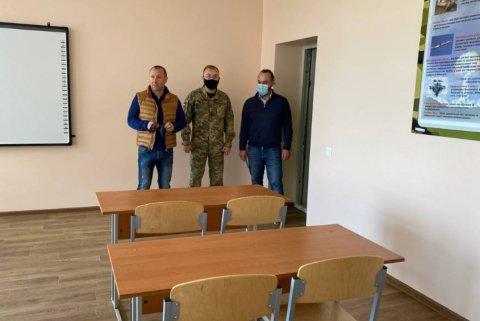 Керівництво обласної ради перевірило стан військової підготовки майбутніх захисників держави