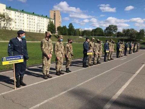 Старт Всеукраїнської спартакіади допризивної молоді